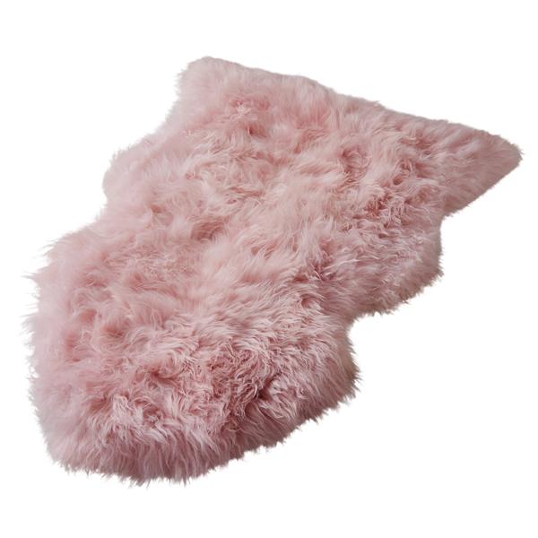 Blush Pink Sheepskin Rug-10081