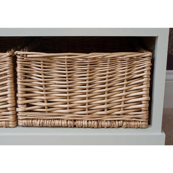 Casamoré Gloucester 3 Drawer 3 Basket Storage Bench_7