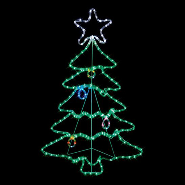 88cm LED Rope Light Christmas Tree