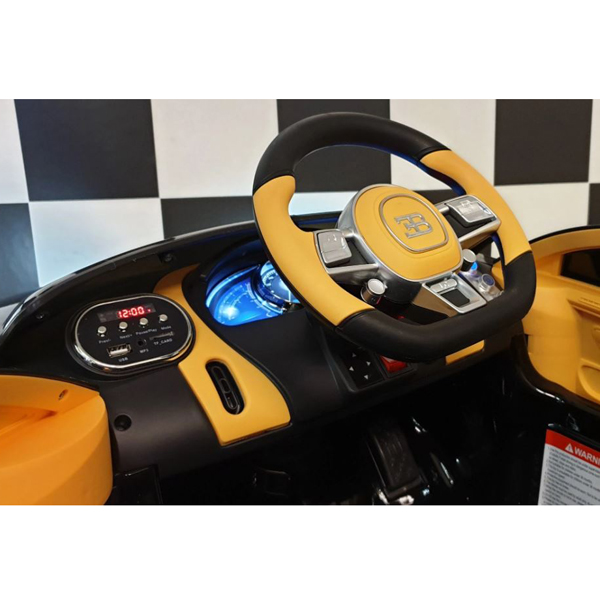 Licensed Bugatti Chiron 12V Ride on Kids Electric Car_16