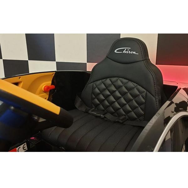Licensed Bugatti Chiron 12V Ride on Kids Electric Car_17