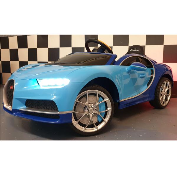 Licensed Bugatti Chiron 12V Ride on Kids Electric Car_5