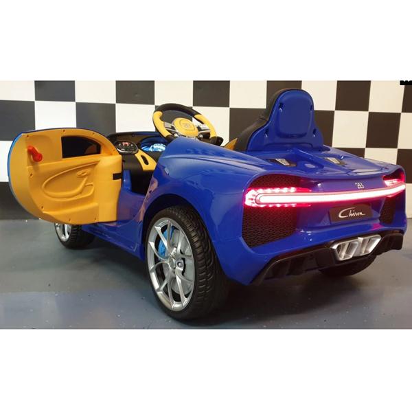 Licensed Bugatti Chiron 12V Ride on Kids Electric Car_6