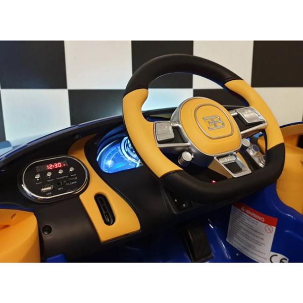 Licensed Bugatti Chiron 12V Ride on Kids Electric Car_10