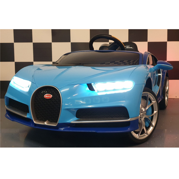 Licensed Bugatti Chiron 12V Ride on Kids Electric Car_3