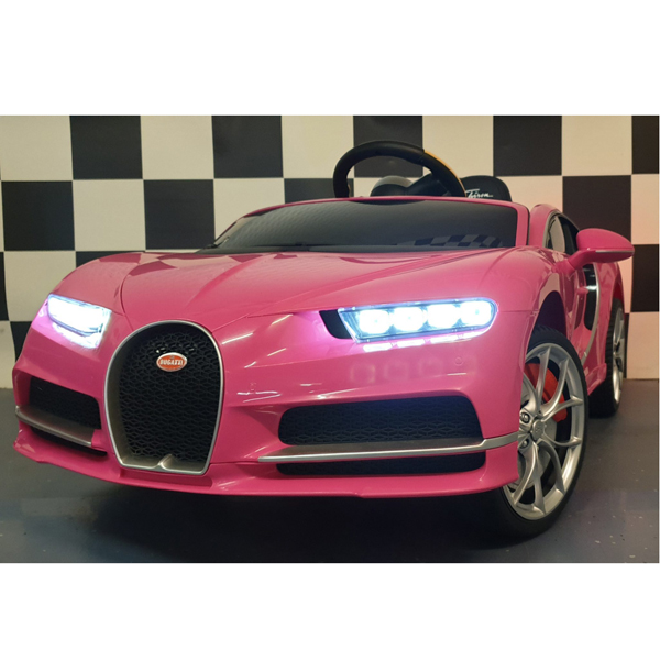 Licensed Bugatti Chiron 12V Ride on Kids Electric Car_21