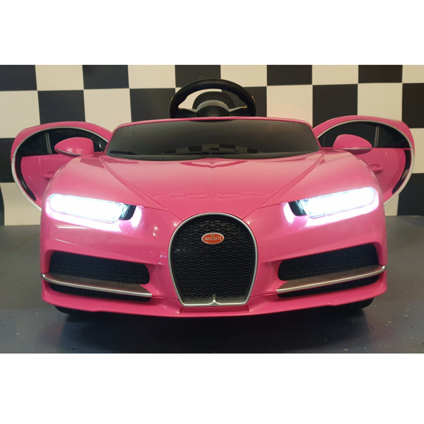 Licensed Bugatti Chiron 12V Ride on Kids Electric Car_23