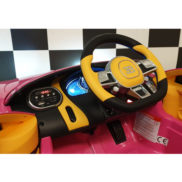 Licensed Bugatti Chiron 12V Ride on Kids Electric Car_27