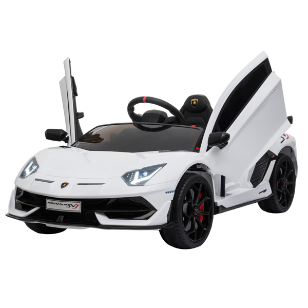 Lamborghini Aventador SVJ 12V Ride on Kids Electric Car_10