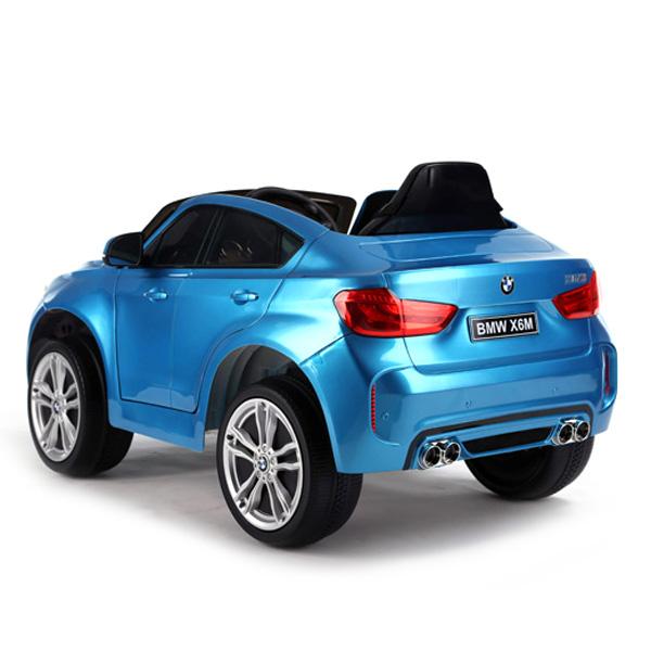 Licensed BMW X6M 12v Battery Powered Kids Ride On Car_2