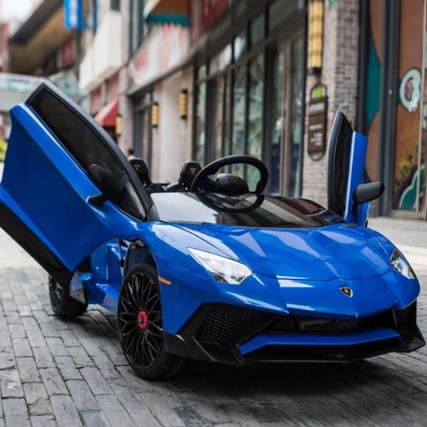 Lamborghini Aventador SV 12V Ride on Kids Electric Car_20