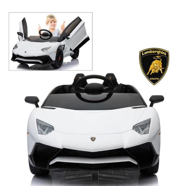 Lamborghini Aventador SV 12V Ride on Kids Electric Car_10