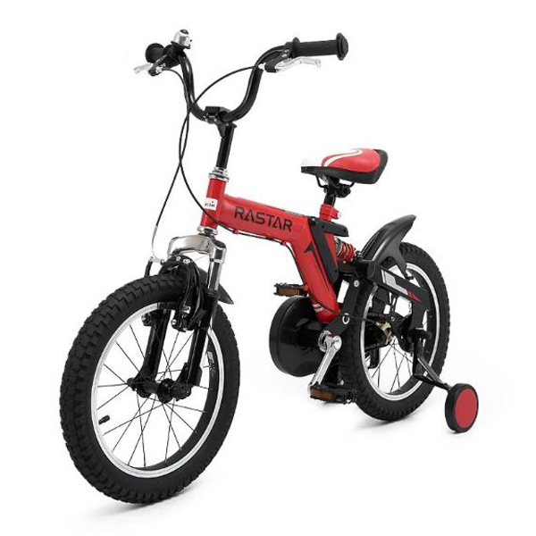 "Rastar Kids Bicycle 14"" Wheels With Stabilisers"
