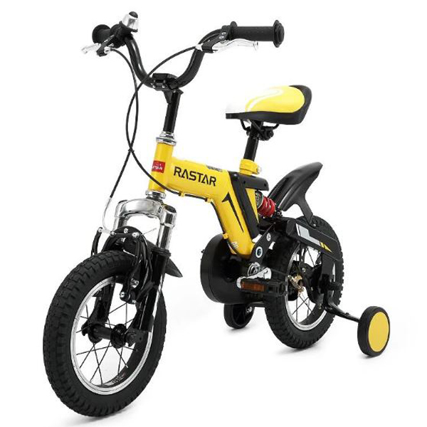 "Rastar Kids Bicycle 16"" Wheels With Stabilisers"
