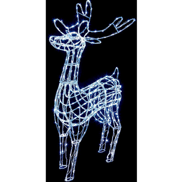 1.8m Reindeer Christmas Light Sculpture