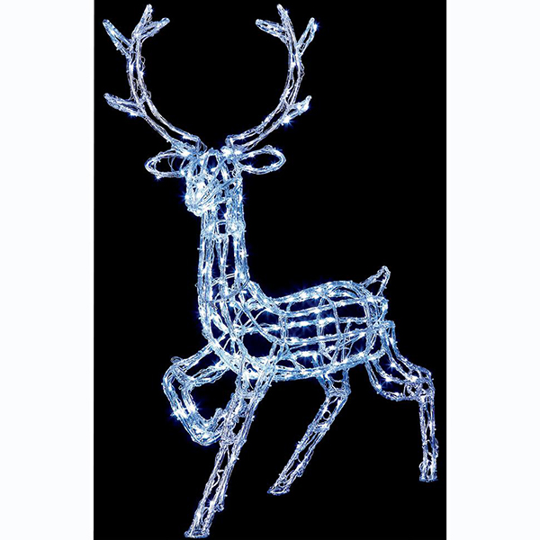 1.4m Reindeer Christmas Light Sculpture