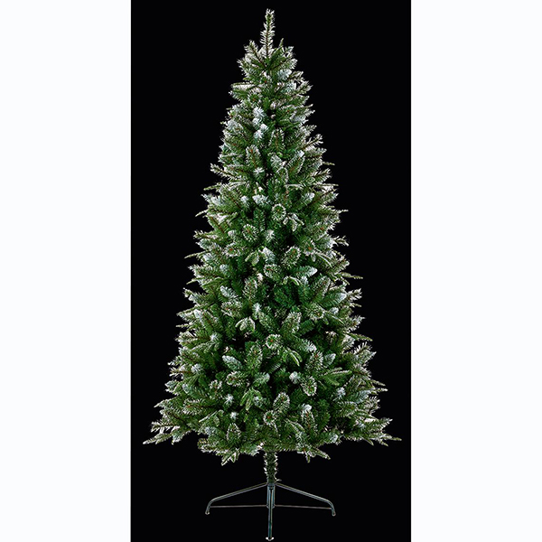 2.1m Glitter Tipped Christmas Tree