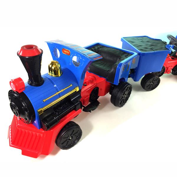 12v Battery Ride on Train & Pedal Truck
