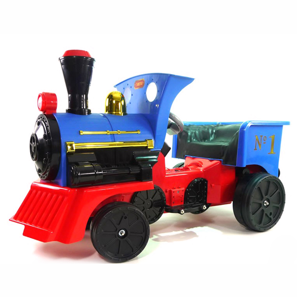 12v Ride On Train Blue