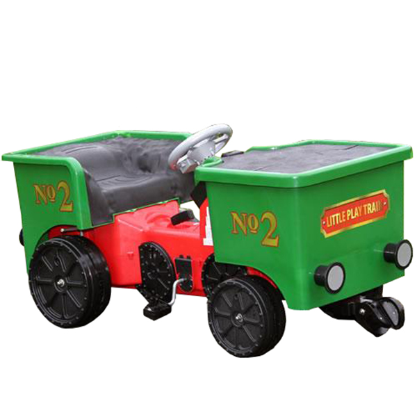 Ride on Pedal Coal Truck Green