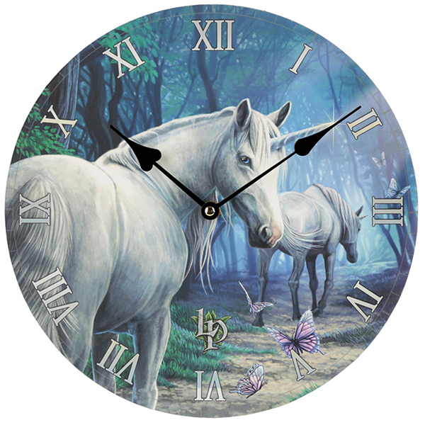Unicorn Wall ClockUnicorn Round Wall Clock