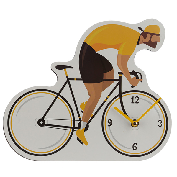 Bicycle Shaped Wall Clock