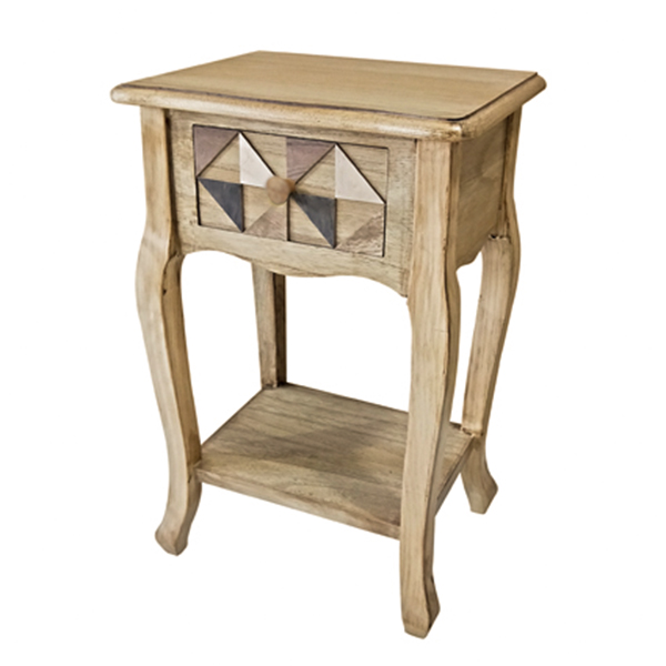 Marrakesh 1 Drawer Side Table