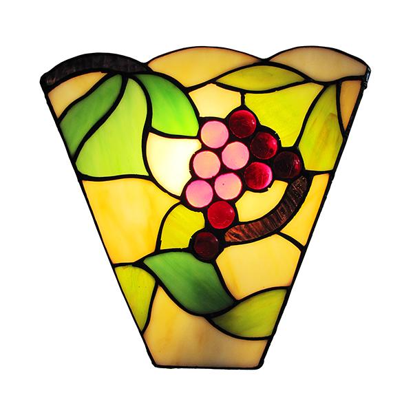 Tiffany Grape Design Wall Light
