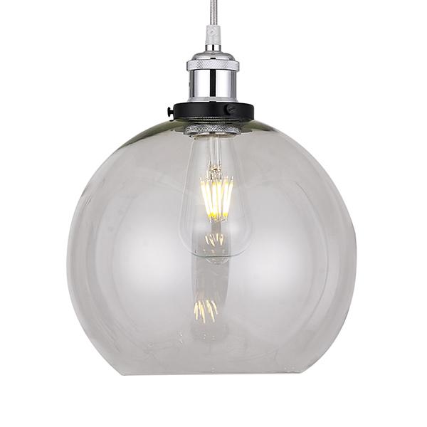 Clear Glass Globe Lampshade