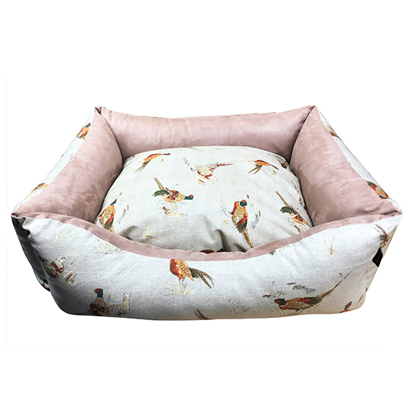 Pheasant Country Style Dog Bed
