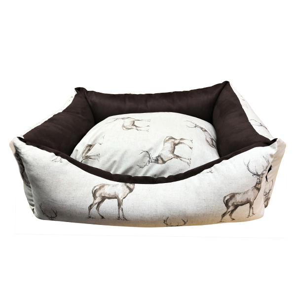 Stag Country Style Dog Bed