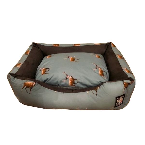 Stag Design Dog Pet Bed Settee