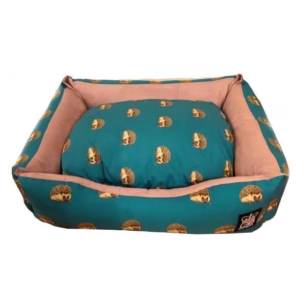 Hedgehog Design Dog Pet Bed Settee