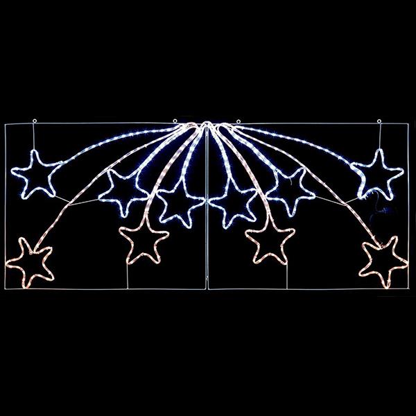 Stars LED Christmas Rope Light