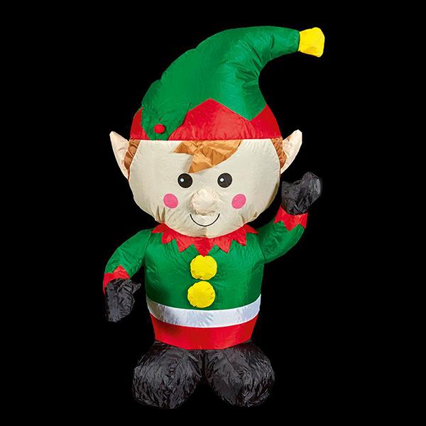 1.1m Christmas Inflatable Elf