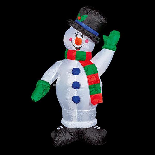 1.2m Christmas Inflatable Snowman