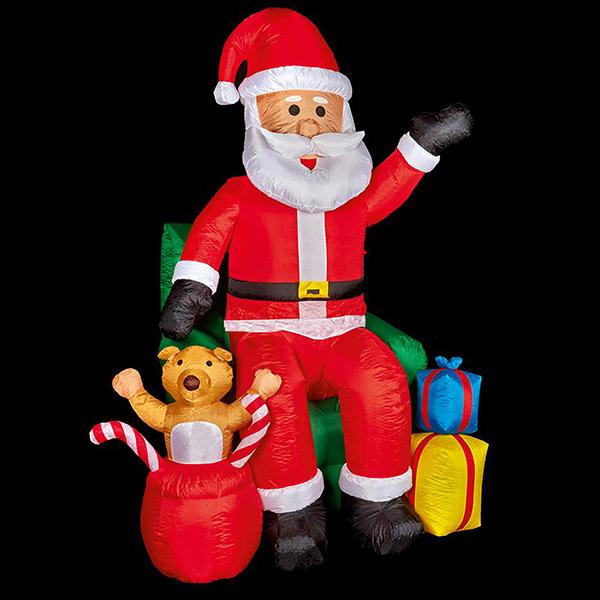 2.4m Christmas Inflatable Santa