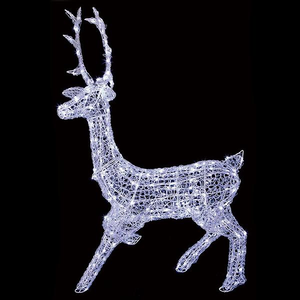 1.4m Stag Christmas Light Sculpture