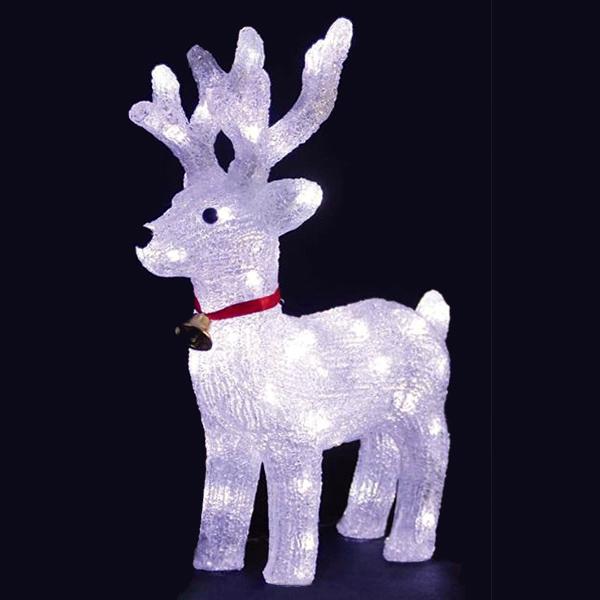 LED Reindeer Christmas Light Sculpture