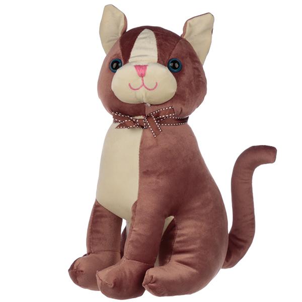 Brown Cat Doorstop
