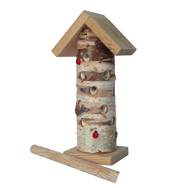 Log Ladybird Tower