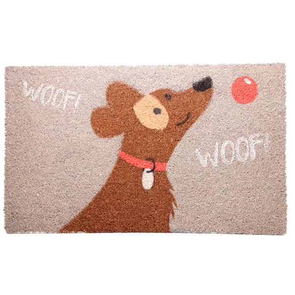 Dog Coir Rectangular Doormat