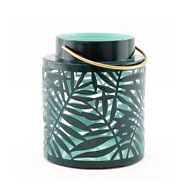 Small Green Olive Leaf Lantern