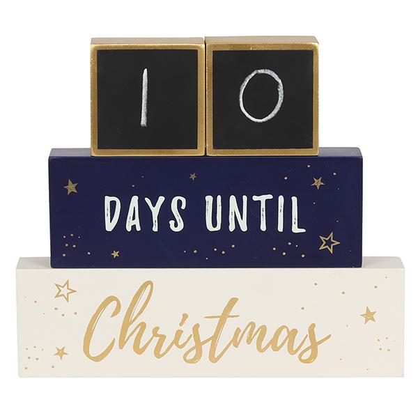 Countdown Until Christmas Stacking Blocks