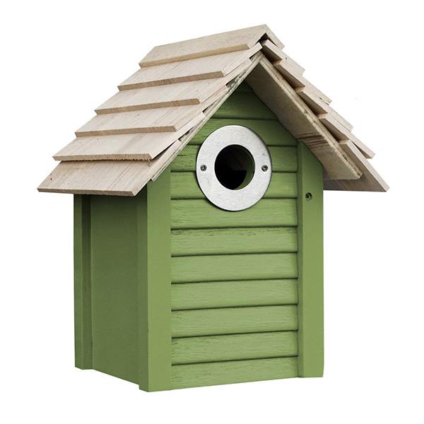 New England Green Bird House